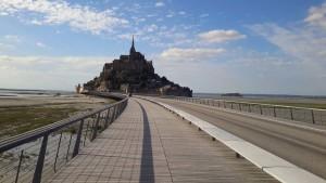 Le Mont Saint Michel sauvé des eaux