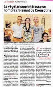 Article du 27 juin 2017 du journal de Saône-et-Loire