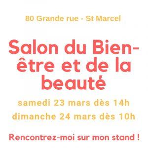 Salon du Bien-être et de la beauté les 23 et 24 mars 2019 à St Marcel
