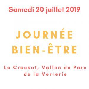 Journée bien-être le samedi 20 juillet 2019