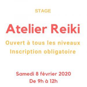 atelier reiki le 8 février 2020 au Creusot
