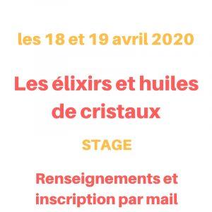 stage de lithothérapie les 18 et 19 avril 2020