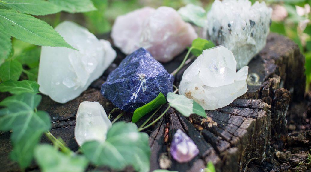 Méditez avec un cristal
