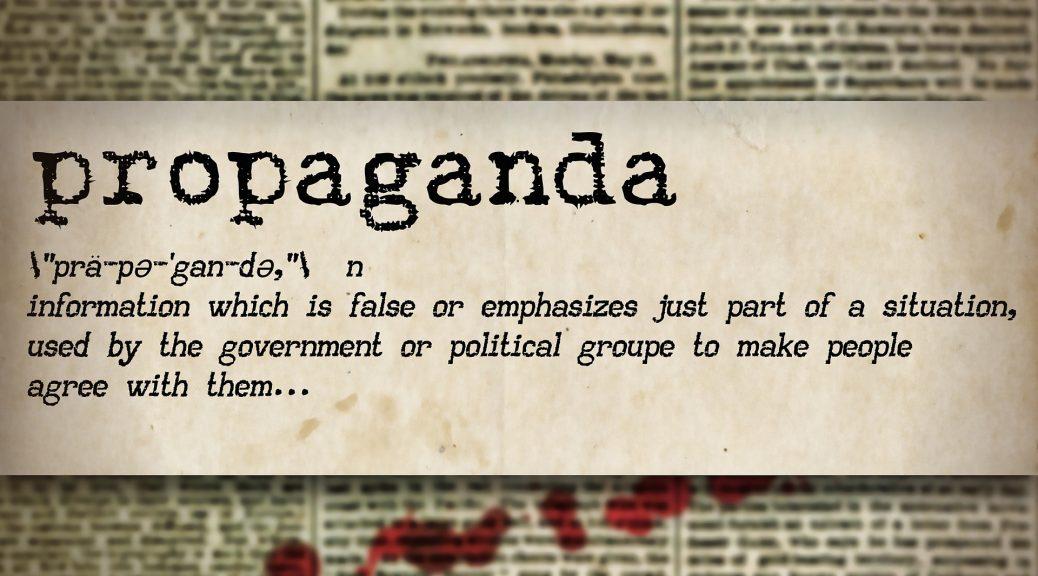 De la propagande à la paix