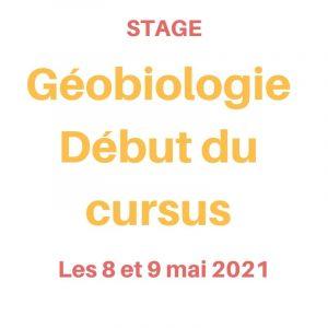 stage de géobioogie les 8 et 9 mai 2021
