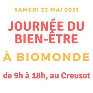 journée du bien-être le samedi 22 mai 2021 au Creusot