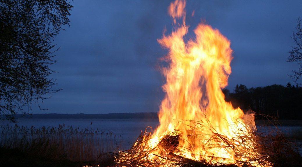 le feu tout un symbole