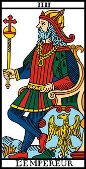 l'empereur du tarot de Marseille